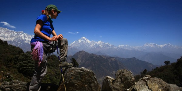 Hiking in and around Pokhara valley